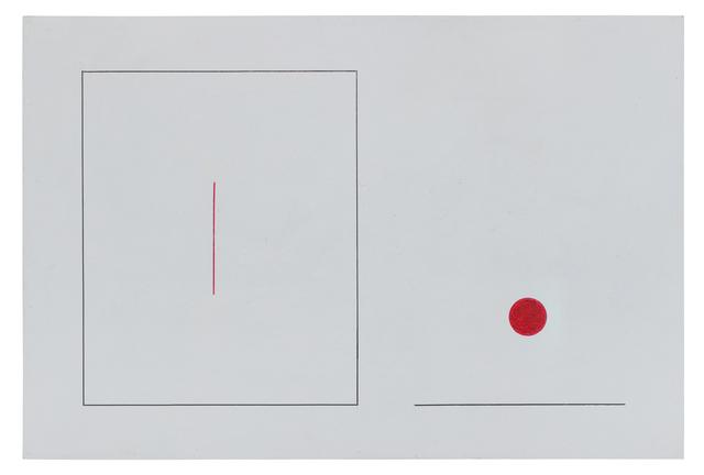 , 'untitled,' 1981-1982, Baró Galeria