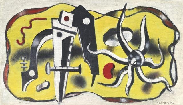 Fernand Léger, 'Composition au compas', 1932, HELENE BAILLY GALLERY