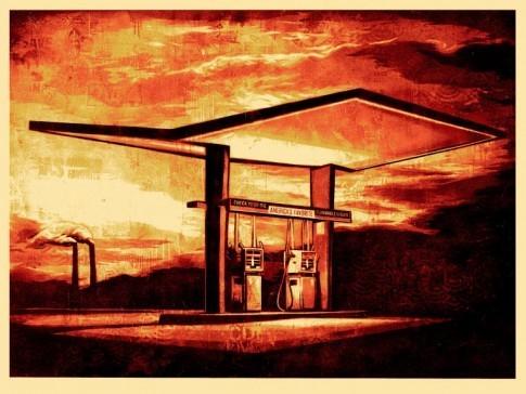 Shepard Fairey, 'America's Favorite', 2010, EHC Fine Art