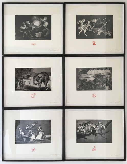 , 'Los Disparates Series,' 2015, Anglim Gilbert Gallery