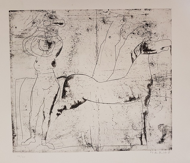 Marino Marini, 'Fondale', 1969, Wallector