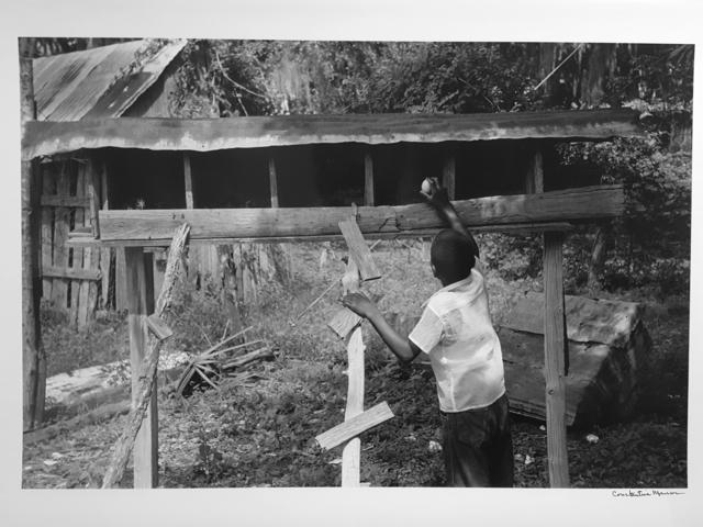 , 'Untitled, Island Boy, Daufuskie Island, South Carolina (chicken coop),' 1952, Robert Klein Gallery