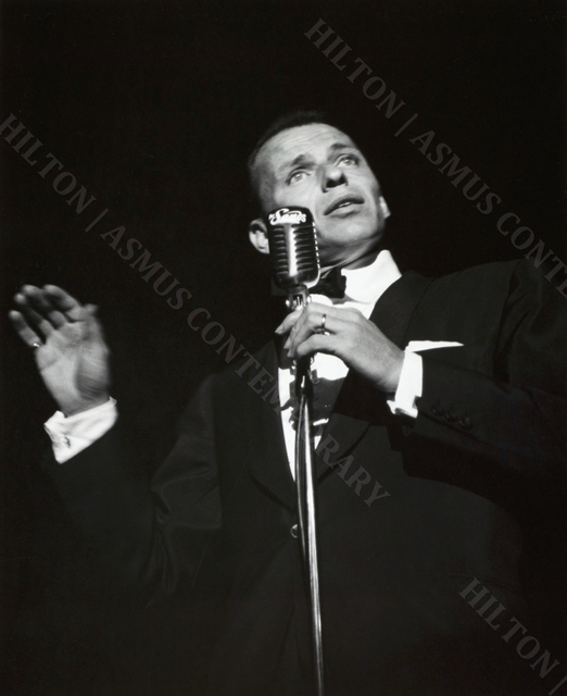 , 'Frank Sinatra - Live at the Sands,' ca. Mid 1950s, Hilton Asmus