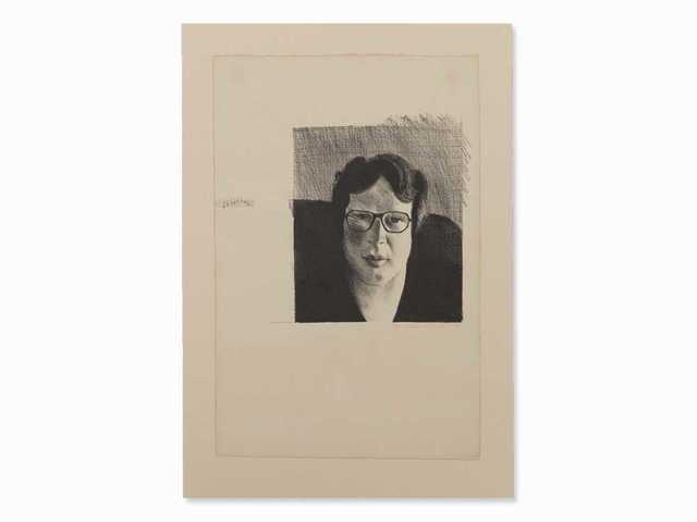 David Hockney, ''Michael Crichton'', 1976, Mr & Mrs Clark's