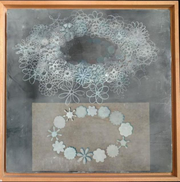 Richard Purdy, 'Theory and Experiment, Encaustic and Laminated Paper on Plywood', 1990-1999, Lions Gallery