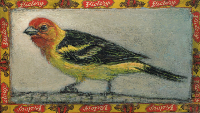, 'Western Tanager / Victory,' 2014, Paul Thiebaud Gallery