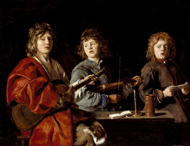 , 'Three Young Musicians,' ca. 1640, Legion of Honor