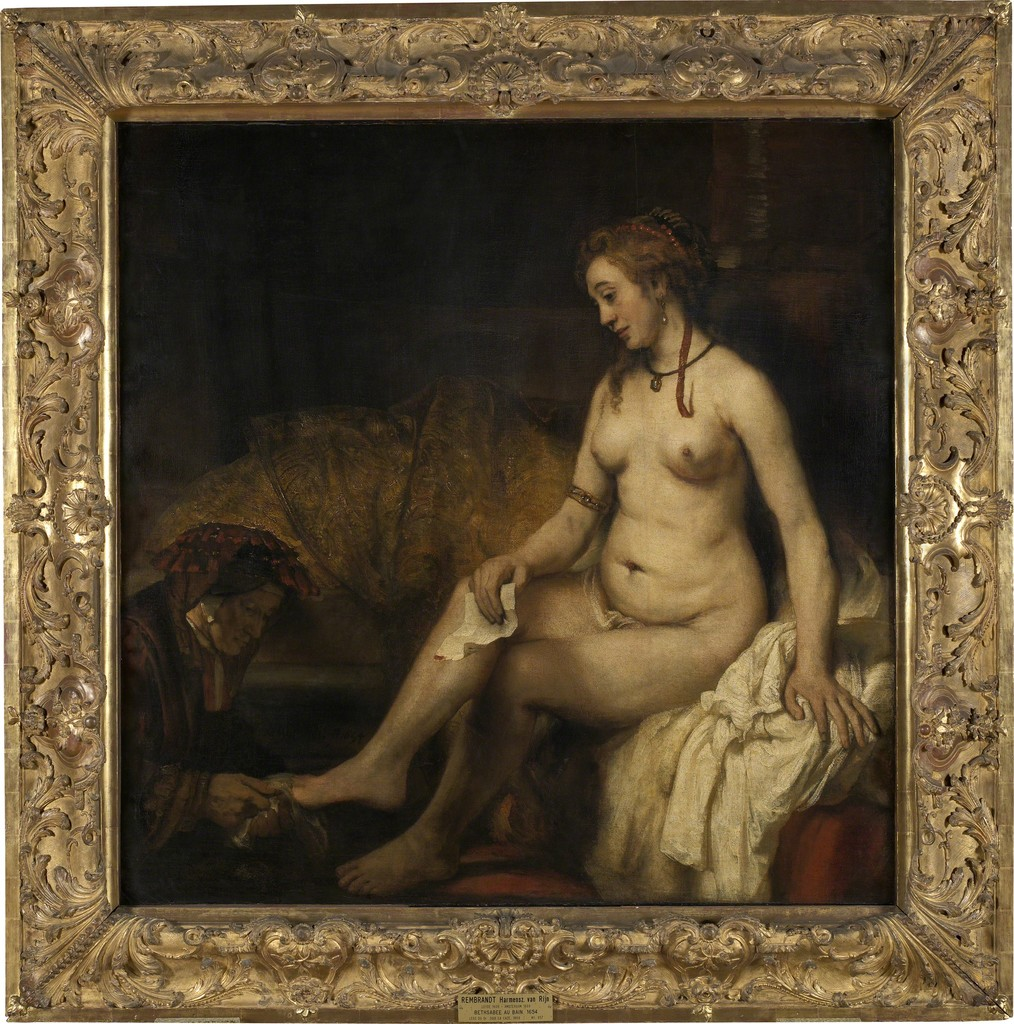 Bethsabée au bain tenant la lettre David (Bathsheba at Her Bath)