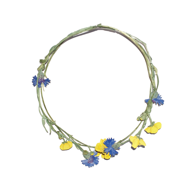 , 'Natura Morta : Buttercups & Cornflowers ,' 2017, Galerie Noel Guyomarc'h