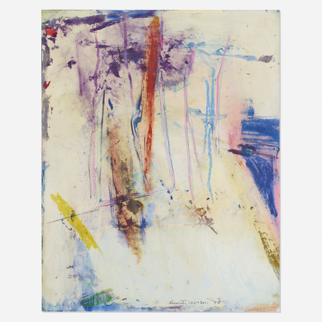 Emily Mason, 'Wharf Warp', 1976, Wright