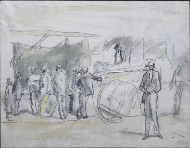 , 'Scene de Marche,' , Fairhead Fine Art Limited