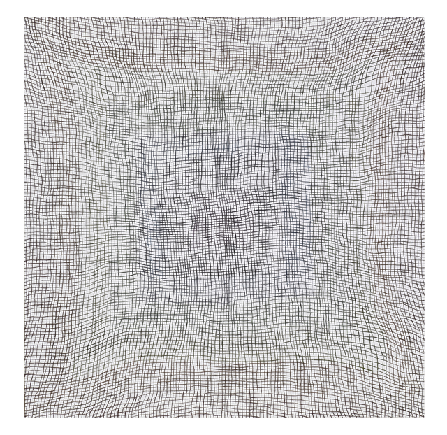 , 'Glory Hole (black on white) (vibgyor),' 2012, Hiram Butler Gallery