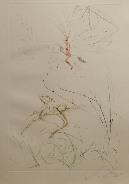Salvador Dalí, 'Tristan et Iseult Tristan's Last Fight', 1970, Fine Art Acquisitions