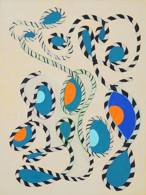 , 'Buff 'N Blue ,' 2017, HATHAWAY   Contemporary Gallery