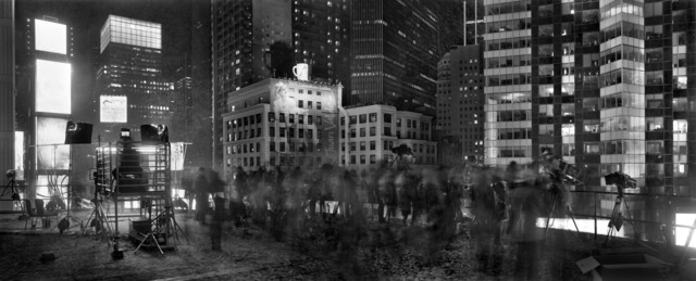 , ' Above Times Square, New Years Eve, From the Marriott Marquis, New York,' 2012, Benrubi Gallery