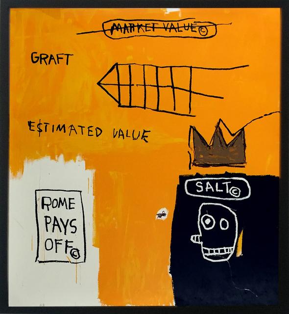 , 'Rome Pays Off,' 1984, Soho Contemporary Art