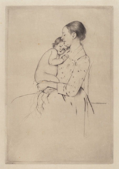 Mary Cassatt, 'Quietude', ca. 1891, National Gallery of Art, Washington, D.C.