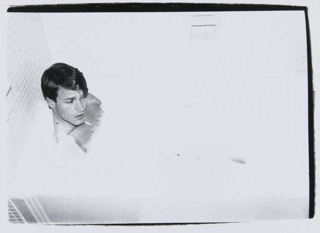 Andy Warhol, 'Andy Warhol, Photograph of Jed Johnson in the Bathtub, 1980', 1980, Hedges Projects