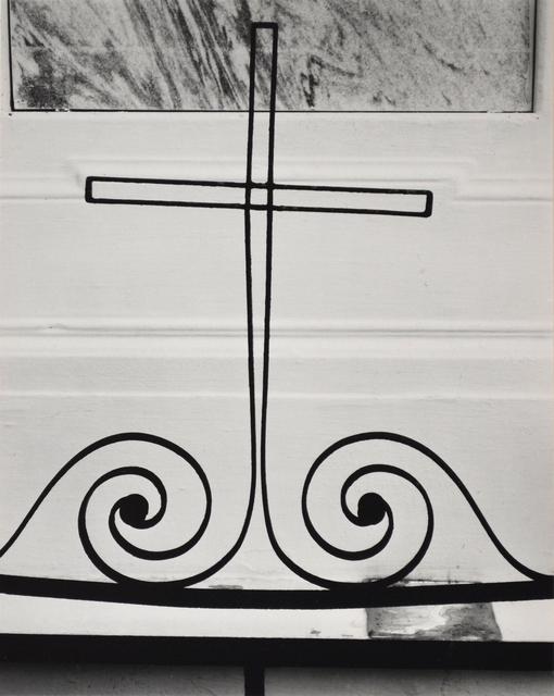 Brett Weston, 'Untitled [Wire Cross]', 1956, Scheinbaum & Russek Ltd.