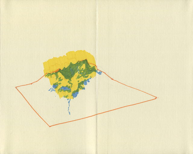 , 'The Geography Notebook,' 2013, EASTWARDS PROSPECTUS