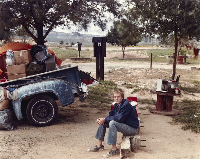 , 'Red Rock State Campground (Boy), Gallup, New Mexico, September 1982,' 1982, Beetles + Huxley