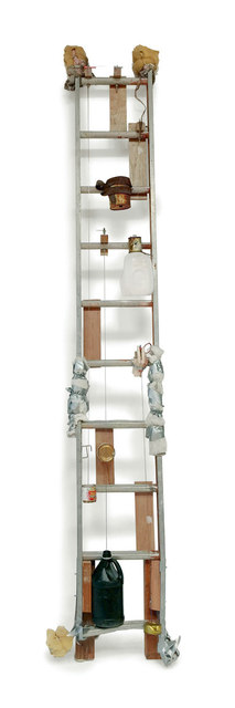 , 'Sirvientes y escaleras / Servants and Ladders,' 2015, Pace Gallery