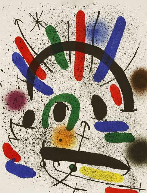 Joan Miró, 'LITHOGRAPHIE I (MOURLOT 865, 866, 858, 862)', 1972, Sworders