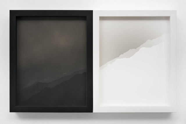 , 'Two Nearly Identical Ridgelines (Canyon Sin Nombre),' 2019, EUQINOM Gallery