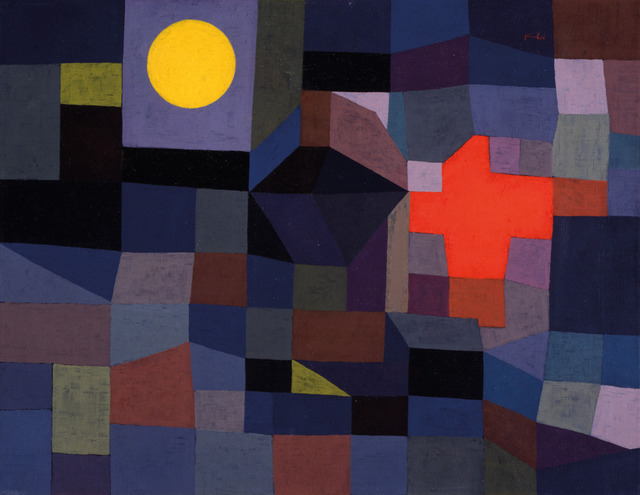 , 'Fire at Full Moon,' 1933, Tate Modern