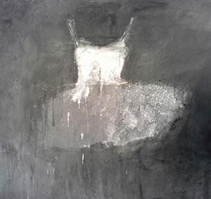Ewa Bathelier, 'Light Grey Dress', Galleria Ca' d'Oro