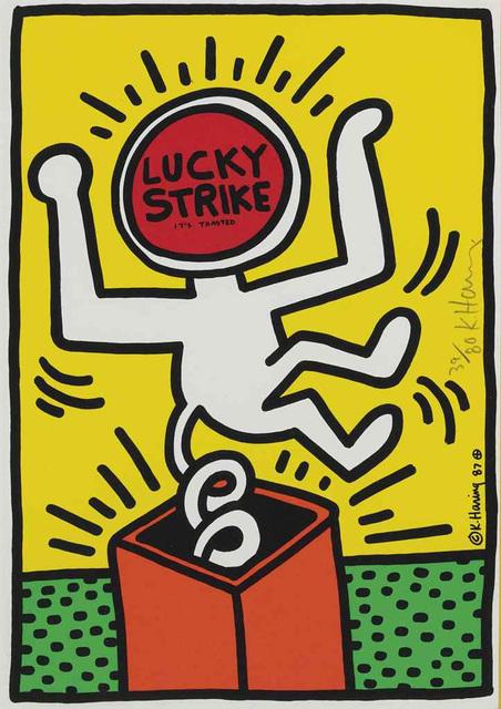 , 'Lucky Strike #3,' 1987, Hamilton-Selway Fine Art