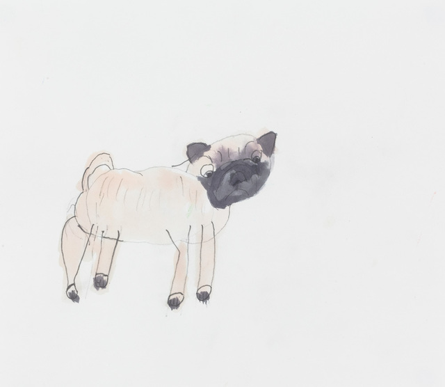 , 'Pug,' 2016, Creativity Explored