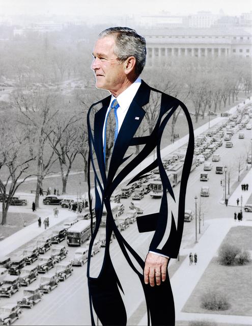 , 'Cross the Party Line: Bush ,' 2017, Artist's Proof