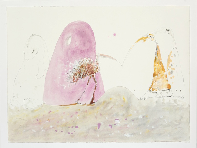 , 'Cabaret Crusades III: The Secrets of Karbala - Drawing,' 2015, Sfeir-Semler