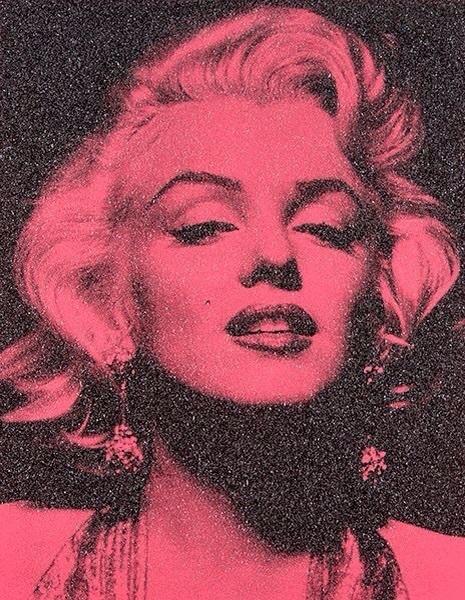 , 'Marilyn Portrait Rosewood & Black ,' , Box Galleries