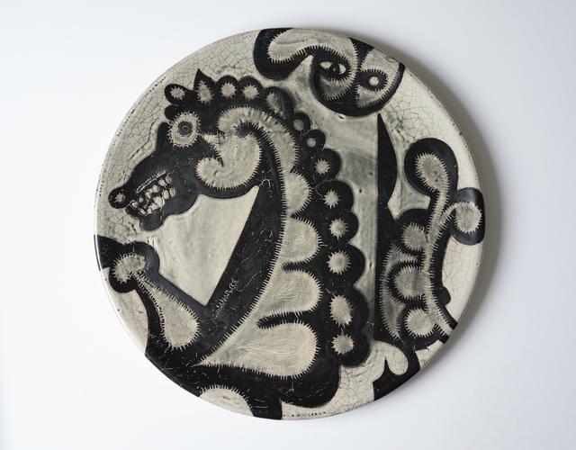 , 'Round Plate,' 2017, Boca Raton Museum of Art