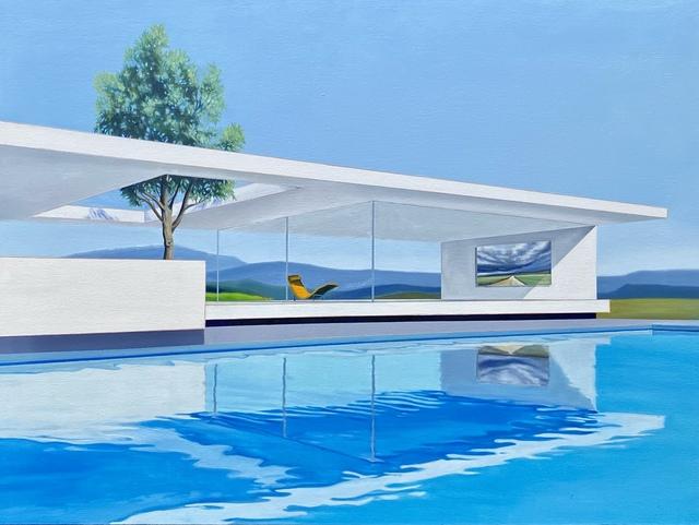 James Shilaimon, 'The Road Less Traveled', 2021, Painting, Oil on canvas, Avran Fine Art