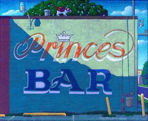 , 'Princes Bar,' 2016, Ro2 Art