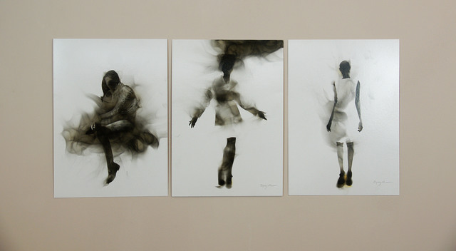 Steven Spazuk, 'Smoky Figures 4, 5 & 6', 2017, Adelson Galleries
