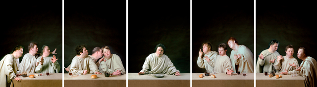 , 'Last Supper. Poliptych from 5 parts,' 1996-1997, Frolov Gallery