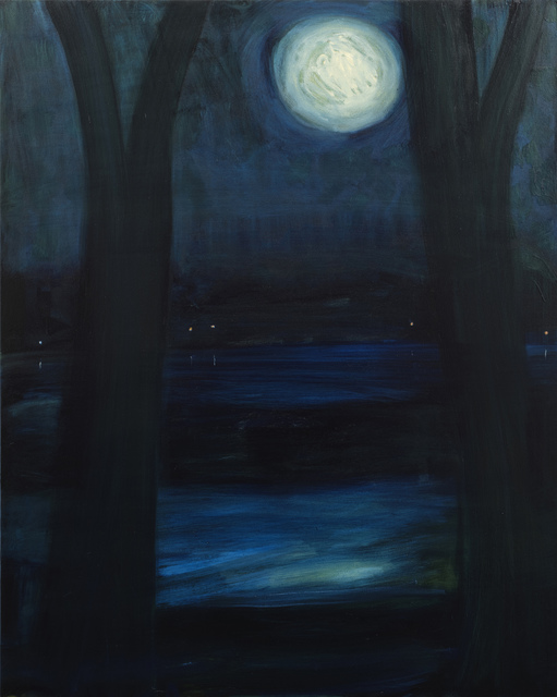 , 'Moon,' 2014, Tayloe Piggott Gallery