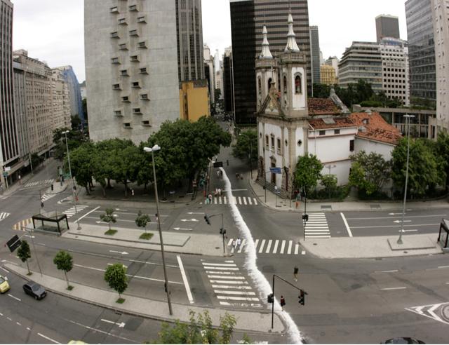 , 'Até onde o mar vinha atéonde oRioia,' 2010, A Gentil Carioca