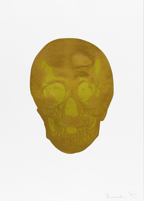 , 'Death Or Glory European Gold/Oriental Gold Glorious Skull ,' 2011, Paul Stolper Gallery