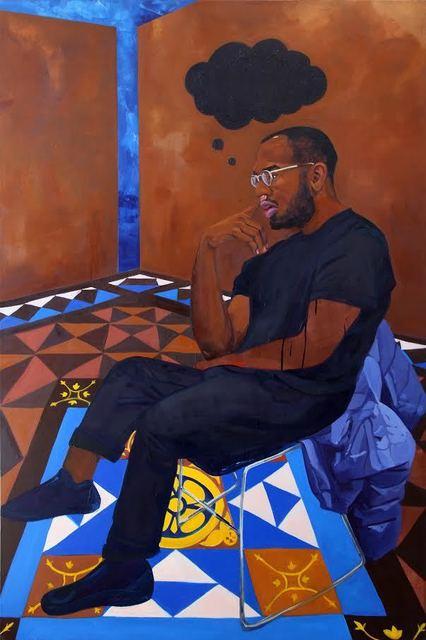 , 'Black Thought (Braeden),' 2018, Fridman Gallery