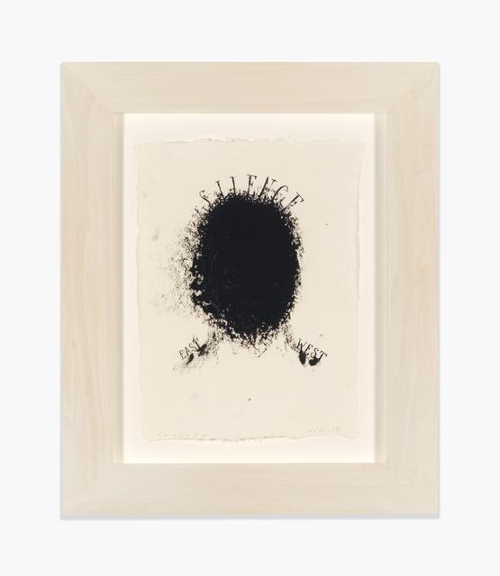 , 'Silence,' 2017, Richard Gray Gallery