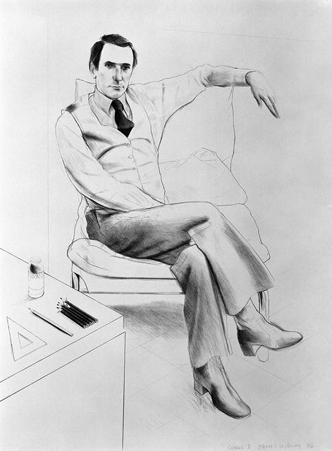 David Hockney, 'Nicholas Wilder', 1976, Gemini G.E.L. at Joni Moisant Weyl