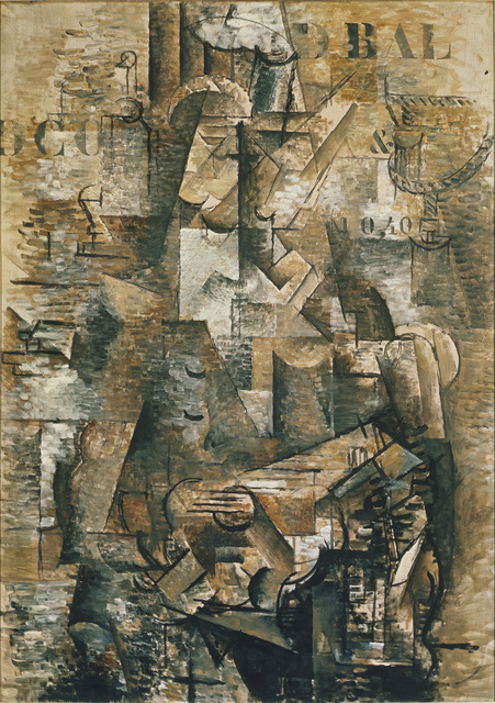 Georges Braque, 'The Portuguese,' 1911, ARS/Art Resource