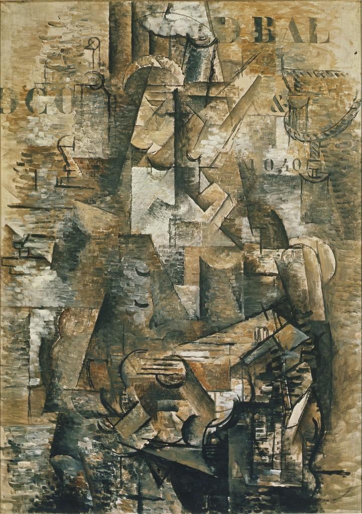 Bien connu Georges Braque | The Portuguese (1911) | Artsy JL87