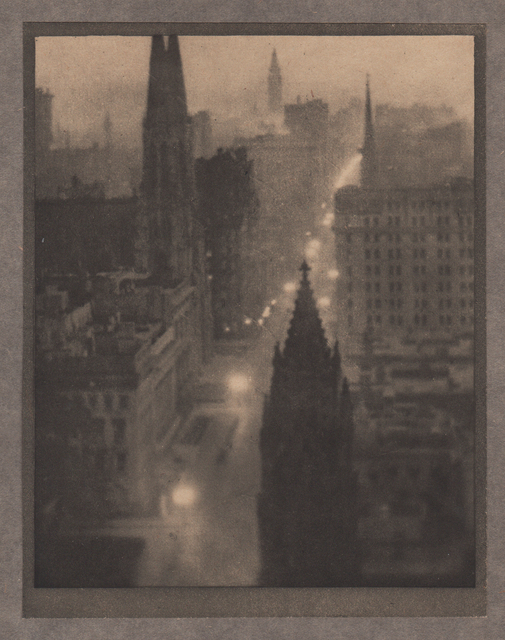 , 'Fifth Avenue, From the St. Regis,' Neg. date: 1909 c. / Print date:1909, Alan Klotz Gallery