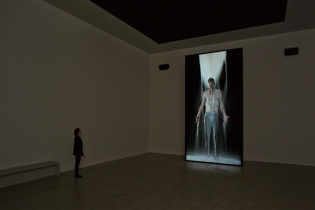 "Installation view of ""Water Martyr"", K2"
